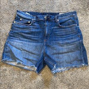 Rag and bone denim shorts